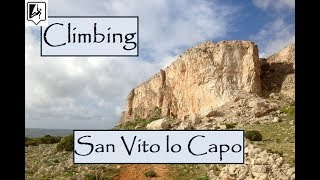 Climbing in San Vito lo Capo - Bunker - No car needed - Klettern Sizilien