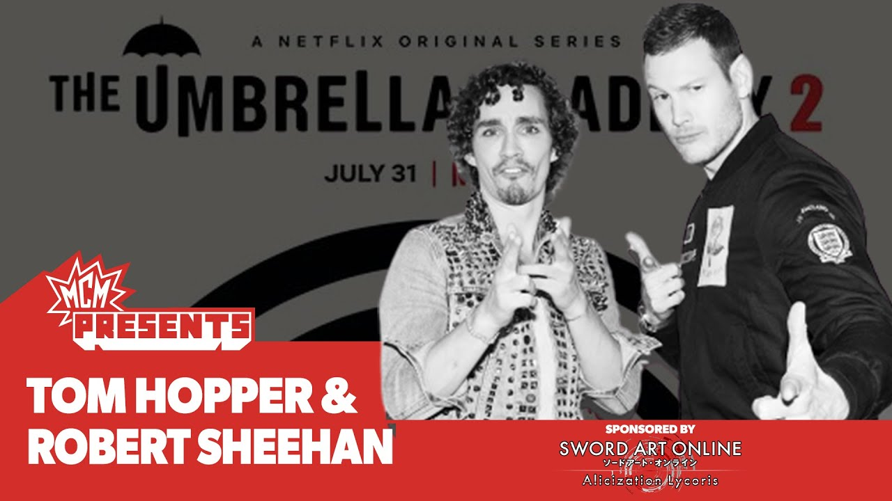 Umbrella Academy cast on who's the Best Dancer with Robert Sheehan & Tom Hopper