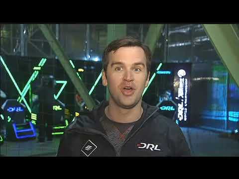 Drone racing competition at the Biosphere 2