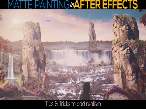 3D Matte painting in After Effects