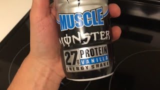 Muscle Monster Protein Shake Taste Test