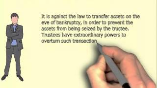 Can I transfer my part ownership in property to a relative prior to my bankruptcy?