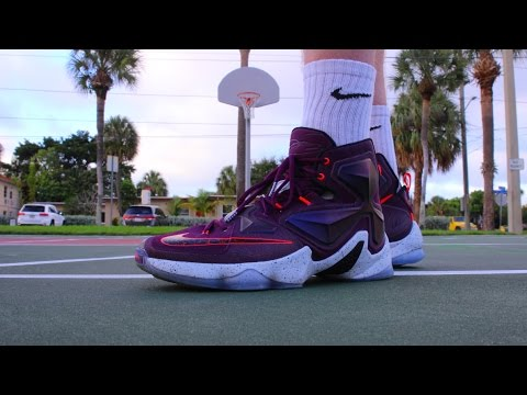 quality design cb8d6 7ca05 NIKE LEBRON 13 PERFORMANCE REVIEW!