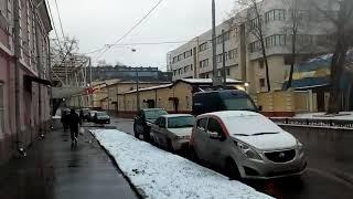 Москва 1602 Ольховская улица 1 й первый Ольховский тупик зима день