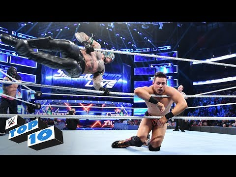 Top 10 SmackDown LIVE moments: WWE Top 10, September 25, 2018