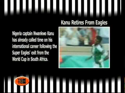 Kanu retires from Eagles