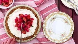 Strawberry-Rhubarb Pretzel Pie | Southern Living