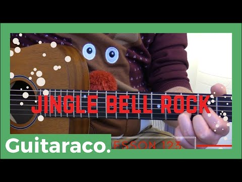 jingle bell rock bobby helms accurate guitar lesson including intro