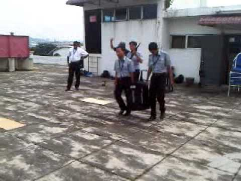 G4S academy... latihan robery...