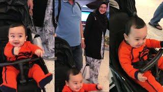 Suka betul Arif Jiwa dapat jalan2 pergi mall dengan Datuk Siti Nurhaliza