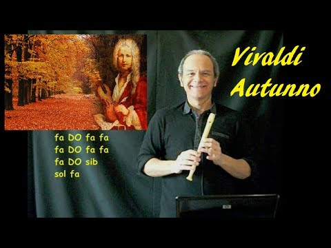 Le 4 Stagioni Di Vivaldi (AUTUNNO) Semplicissima Ma Bella