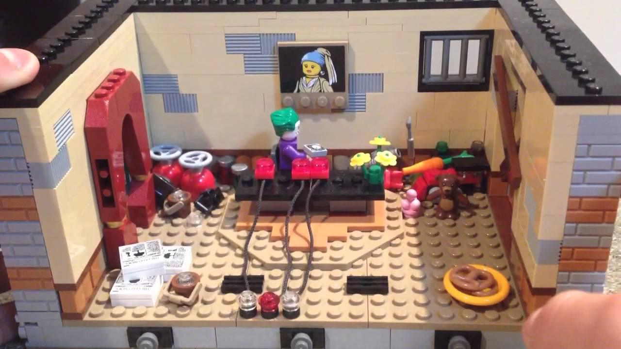 Moc lego batman arkham origins 3 funnycat tv