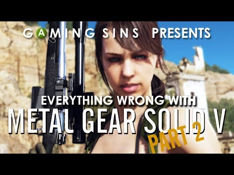 Everything Wrong With Metal Gear Solid V in Many Minutes, PART 2 | Gaming Sins