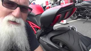 test riding the ducati diavel living off the slab 2012