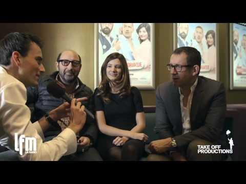 Supercondriaque - Dany Boon, Kad Merad et Alice Pol à Lausanne