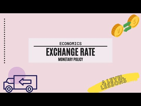 All about the Exchange Rate (Monetary) Policy in Macroecons | A Level Economics (2021)