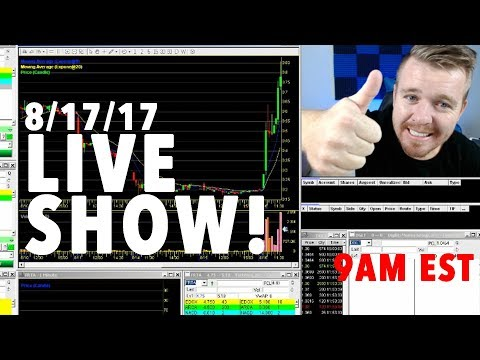 DAY TRADING SMALL ACCOUNT LIVE! HOT STOCKS TO TRADE!