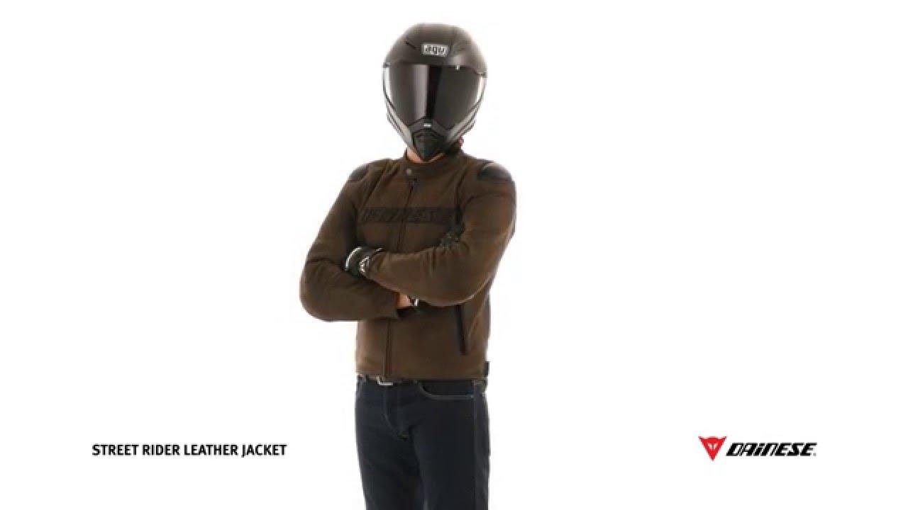 Dainese Street Rider Moto En Cuir De Veste PZwXTOiuk