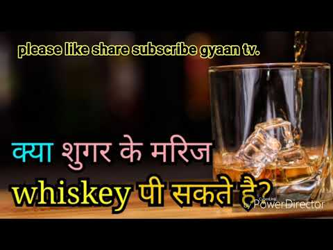 Diabetics paitents can drink alcohol or whiskey?