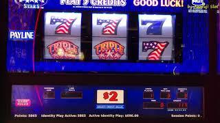 Free Play $1,000★Triple Double Star $2 Slot Max Bet $6 (Denom) Cosmopolitan Las Vegas, Akafujislot
