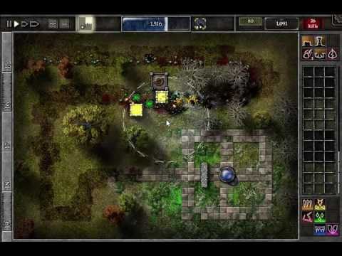 GemCraft Chasing Shadows Field M1 Game Solution and Opening Tome Chamber Video |