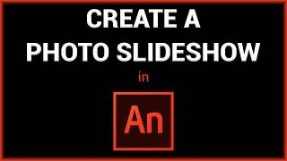 إنشاء صورة عرض الشرائح في برنامج Adobe الأرواح/فلاش
