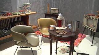昔の暮らしぶりを知ることができる、着物や器を集めた展示会が高松市で...