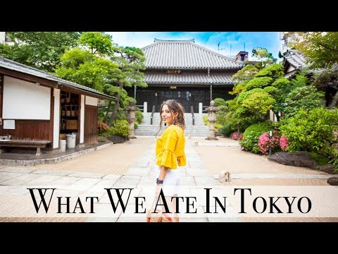 Trying Weird Japanese Snacks & A Tea Ceremony in Tokyo