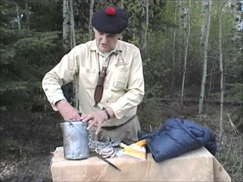 Survival Kit with Mors Kochanski