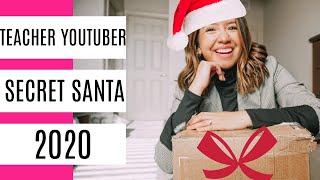 Secret Santa 2020! | Teacher Youtuber Edition