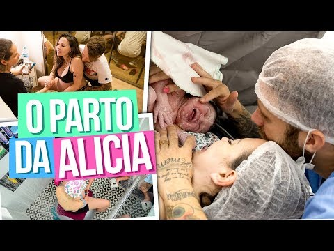 O PARTO DA ALICIA