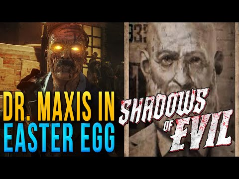 Dr. Maxis in Shadows of Evil Explained | Dr. Maxis voice in Shadows of Evil Easter Egg Explained