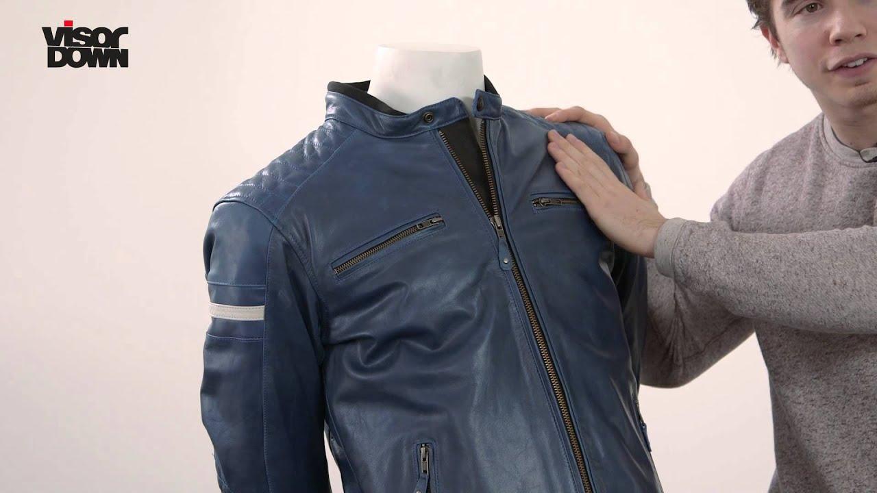Leather jacket vs motorcycle jacket - Richa Daytona Leather Motorcycle Jackets Visordown Product Review