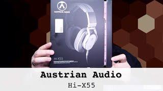 Austrian Audio Hi-X55 im Test - Ein Kopfhörer wie kein anderer!
