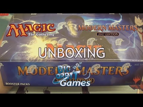 Magic The Gathering: Modern Masters 2017 Booster Unboxing