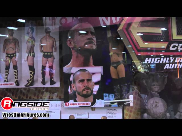 Mattel WWE Preview Night Display - SDCC 2013 NEW Mattel WWE Wrestling Figures San Diego Comic Con Travel Video