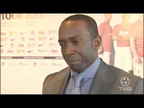 Dwight Yorke Interview
