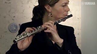 Britta Jacobs. Die neue Schülerflöten-Serie von Yamaha