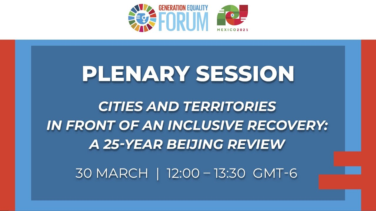 Cities and territories in front of an inclusive recovery: a 25-year Beijing review