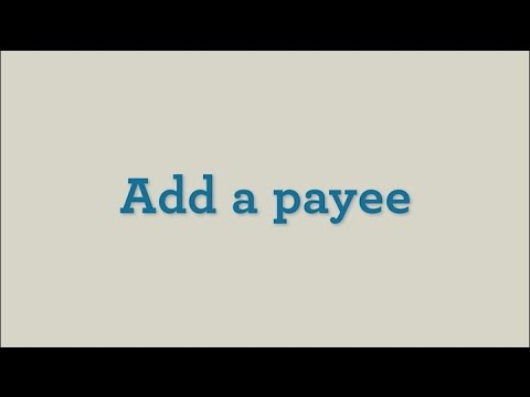 How to Add a Payee – Wells Fargo Bill Pay