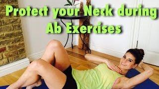 Ab sırasında Boyun Korumak için nasıl Egzersizler