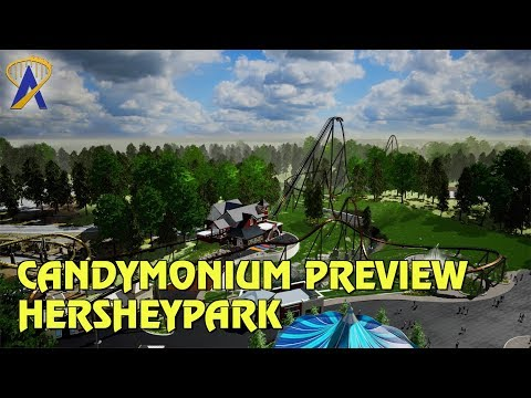 Hersheypark announces Candymonium hypercoaster for 2020