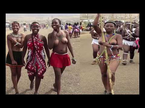 Sexy Swaziland Maidens in half naked thumbnail