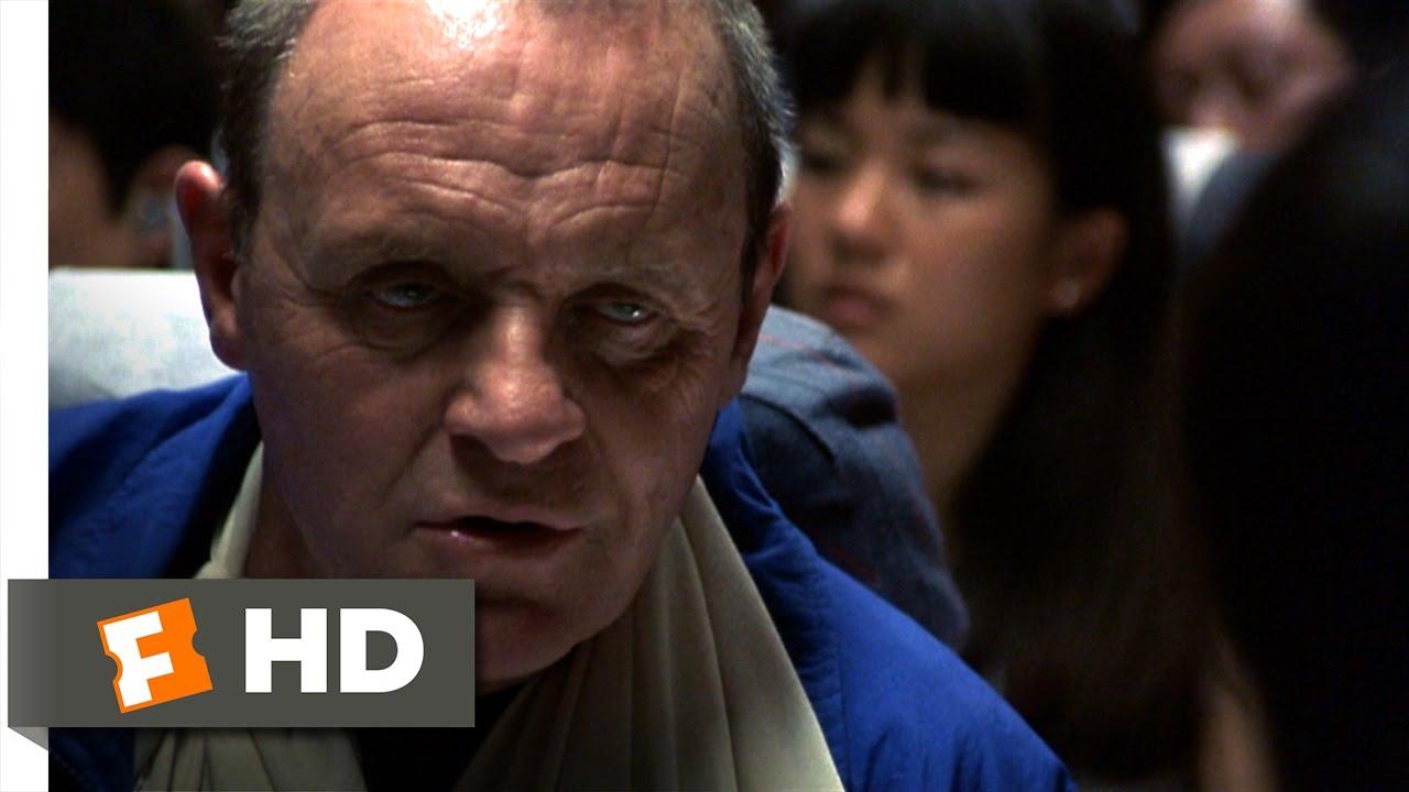 Hannibal (10/10) Movie CLIP - Brain on a Plane (2001) HD