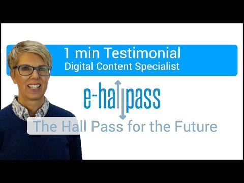 e-hallpass Testimonial from Hopkins West Junior High School