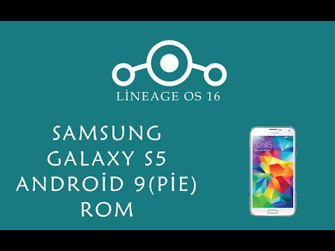 Galaxy s5'e Lineage 16  rom nasıl yüklenir. How to install Lineage 16 rom(Android 9) on Galaxy S5.