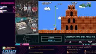 Tasbot Block (Mario, Castlevania, Scribblenauts) - Restream PT-BR da AGDQ 2019!