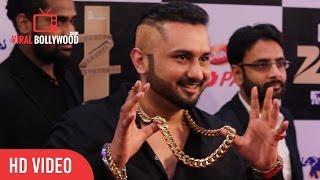 Yo Yo Honey Singh In Zorawar Style at Zee Cine Awards 2016