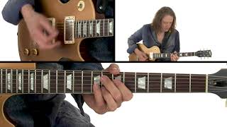 Robben Ford Guitar Lesson - More Minor Ninths and Elevenths Performance - Blues Chord Evolution