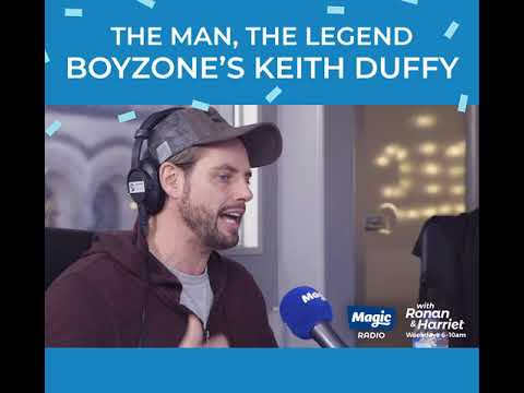 Keith Duffy on Magic Breakfast  Manchester
